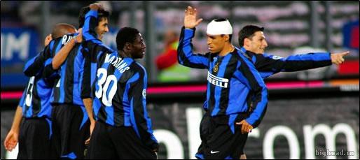2005年4月21日,国际米兰客场1-0连胜尤文图斯