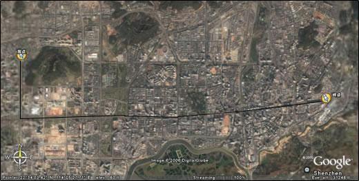 2006年深圳百公里磨坊驴行活动·大头分站赛