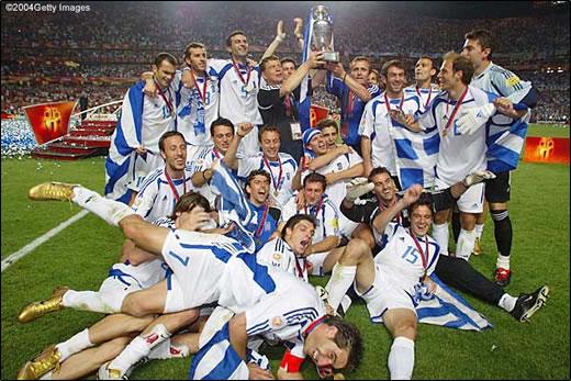 希腊赢得2004年欧洲杯冠军