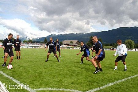 国际米兰在布鲁尼科训练基地