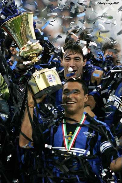 国际米兰赢得七年来第一个冠军