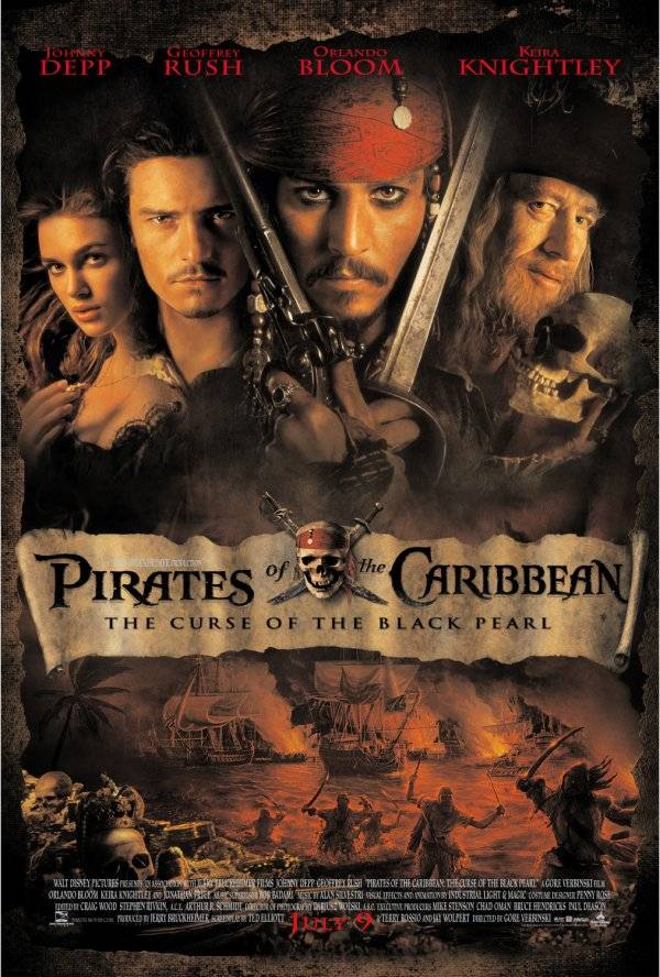 加勒比海盗 海报 Pirates Of The Caribbean _Poster