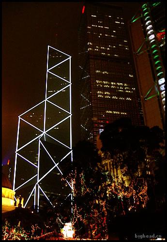 中银大厦夜景