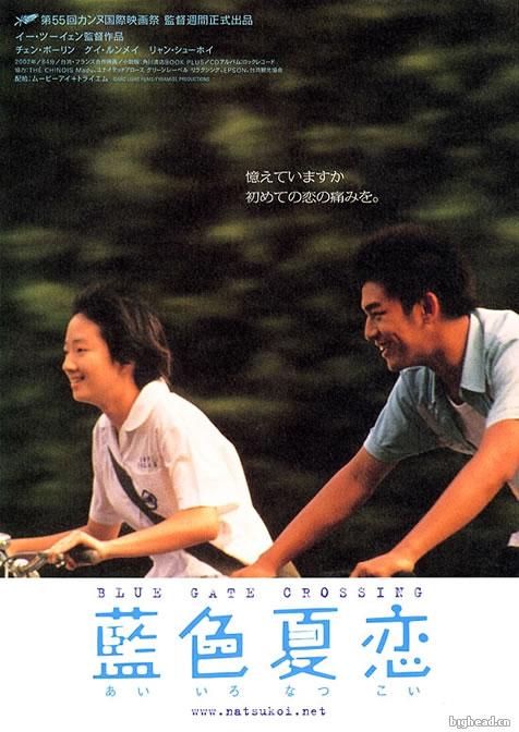 蓝色大门日文版海报
