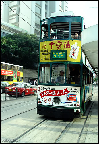 老式双层巴士