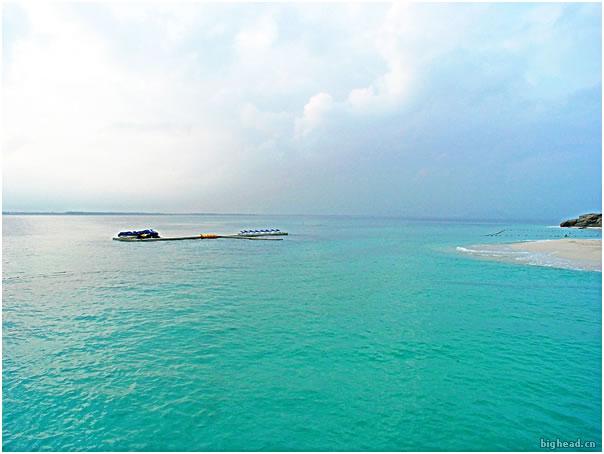 蜈支洲岛的照片